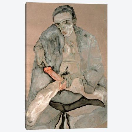 Eros, 1911 Canvas Print #BMN6459} by Egon Schiele Canvas Art