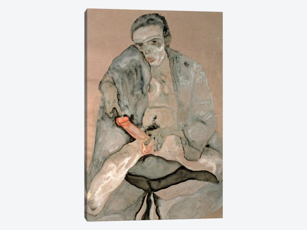 Eros, 1911 by Egon Schiele 1-piece Canvas Artwork