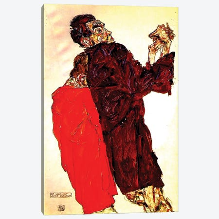The Truth Unveiled, 1913 Canvas Print #BMN6467} by Egon Schiele Canvas Wall Art