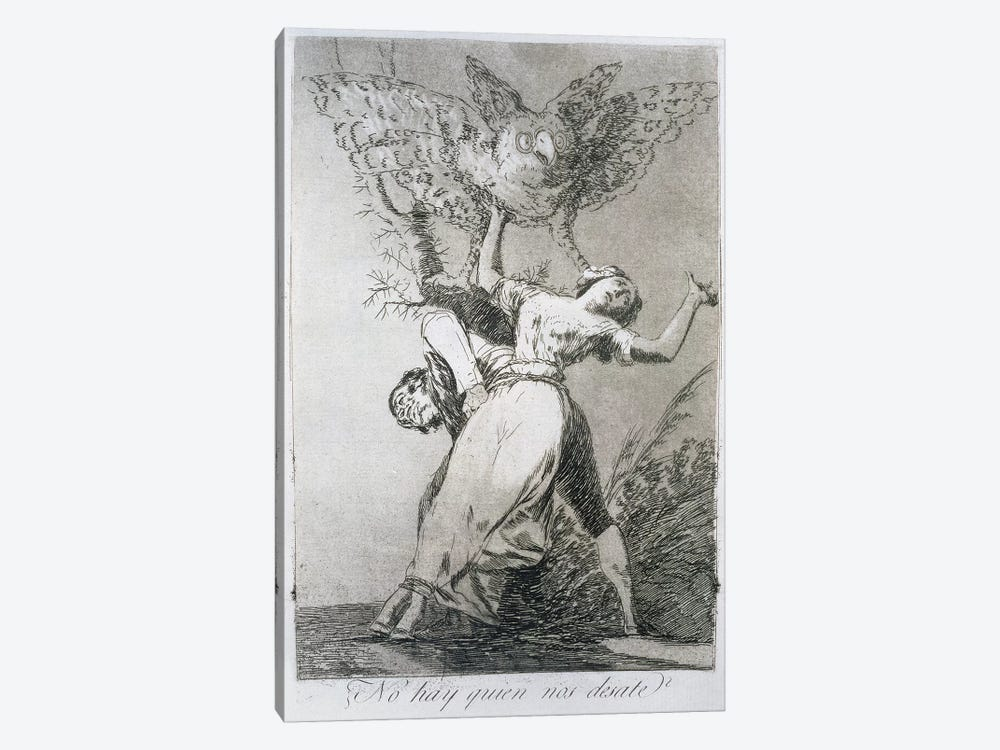 Can't Anyone Unleash Us? (Illustration From Los Caprichos), 1799 by Francisco Goya 1-piece Canvas Art Print
