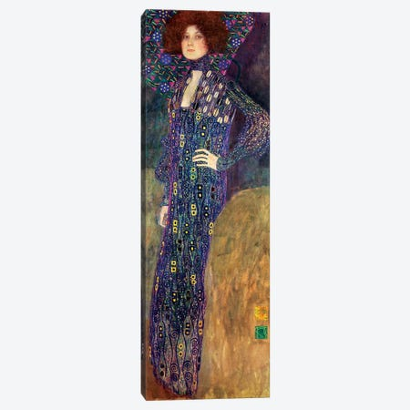 Emilie Floege, 1902 Canvas Print #BMN6472} by Gustav Klimt Canvas Wall Art
