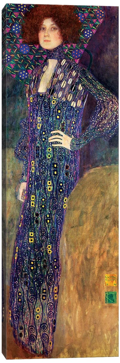 Emilie Floege, 1902 by Gustav Klimt Canvas Art Print