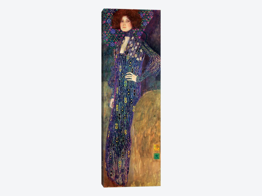 Emilie Floege, 1902 by Gustav Klimt 1-piece Art Print