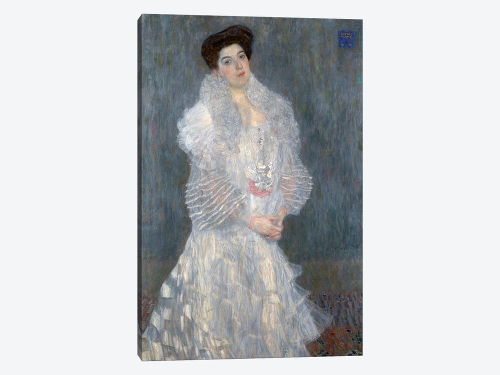 Portrati Of Hermine Gallia, 1904 by Gustav Klimt 1-piece Canvas Wall Art