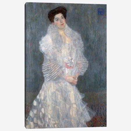Portrati Of Hermine Gallia, 1904 Canvas Print #BMN6473} by Gustav Klimt Canvas Artwork