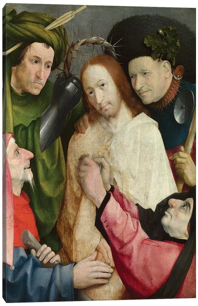 Christ Mocked (The Crowning With Thorns), c.1490-1500 Canvas Print #BMN6476
