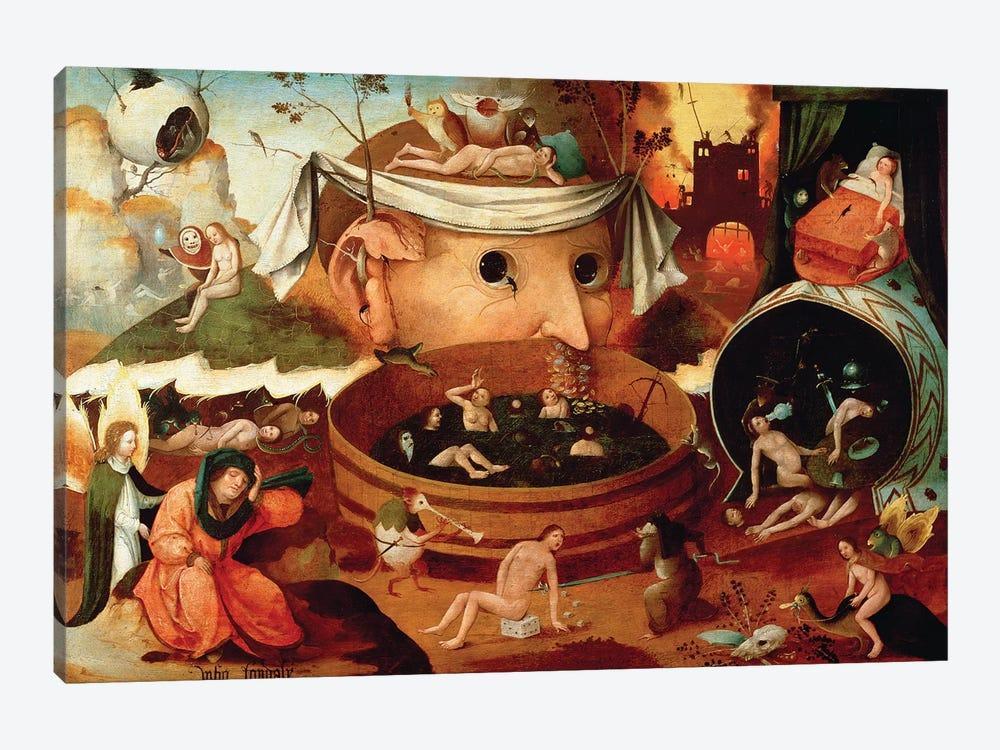 Vision de Tondal (Tondal's Vision) by Hieronymus Bosch 1-piece Canvas Print
