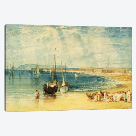 Weymouth, c.1811 Canvas Print #BMN6482} by J.M.W. Turner Art Print