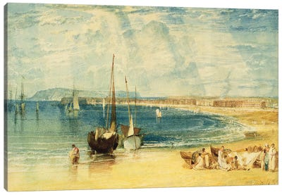Weymouth, c.1811 Canvas Art Print