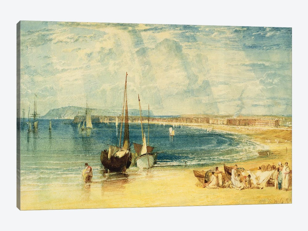 Weymouth, c.1811 by J.M.W. Turner 1-piece Canvas Art