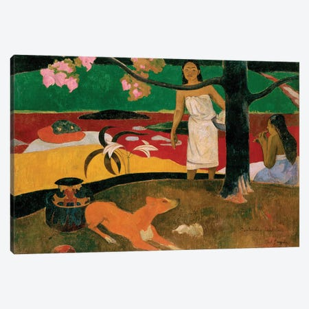 Pastorales Tahitiennes, 1893 Canvas Print #BMN6491} by Paul Gauguin Canvas Artwork