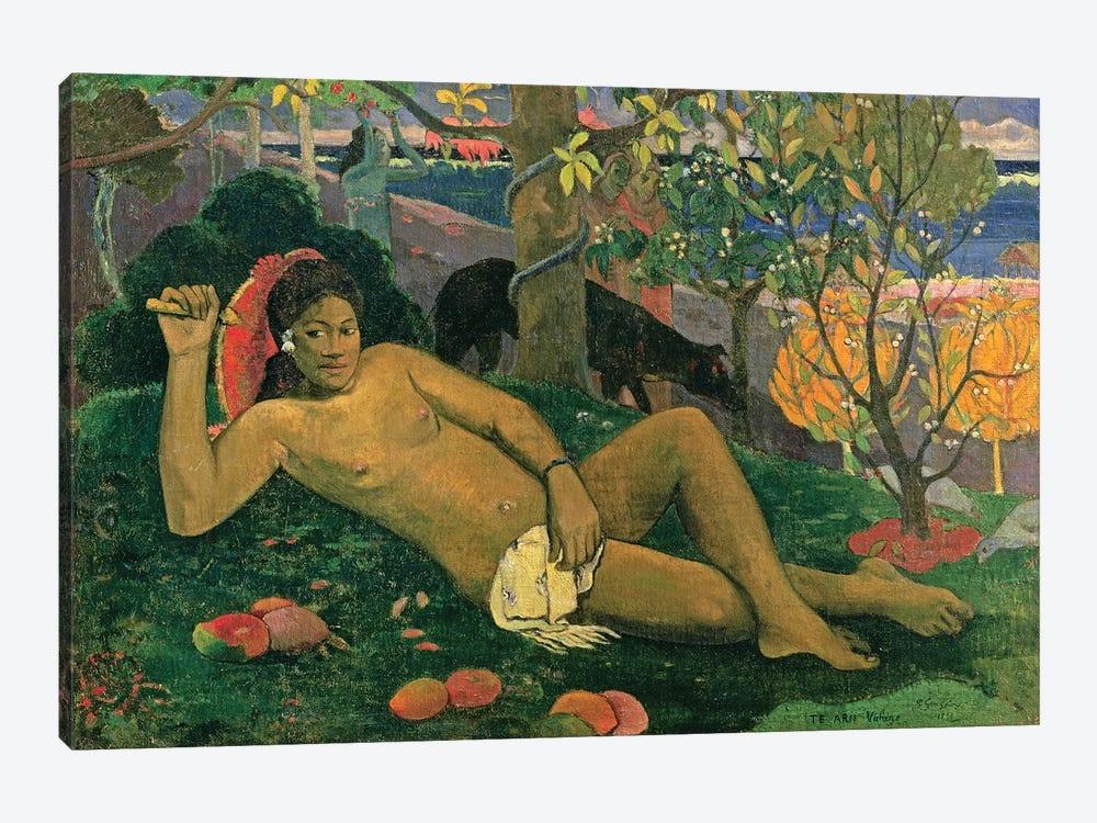 Te Arii Vahine (The King's Wife), 1896 by Paul Gauguin 1-piece Canvas Artwork