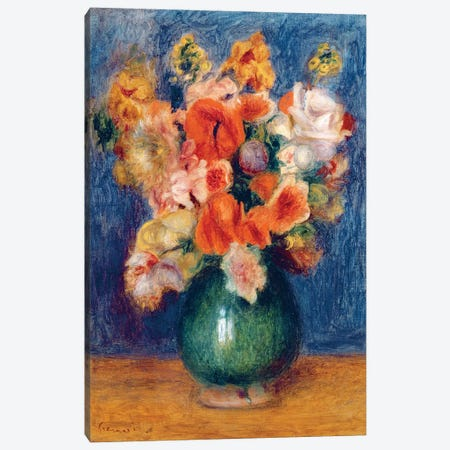 Bouquet, c.1900 Canvas Print #BMN6497} by Pierre-Auguste Renoir Art Print