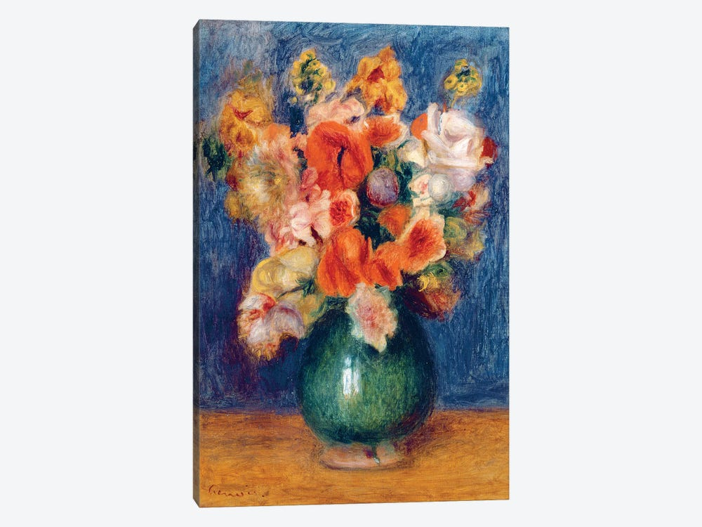 Bouquet, c.1900 by Pierre-Auguste Renoir 1-piece Canvas Wall Art