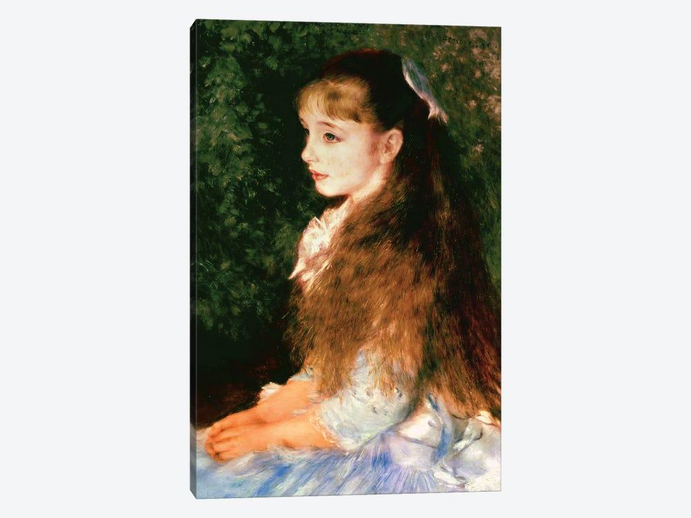 portrait of mademoiselle irene cahen d pierre auguste