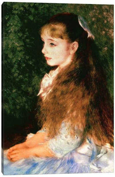 Portrait Of Mademoiselle Irene Cahen d'Anvers, 1880 Canvas Art Print