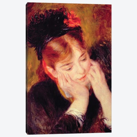 Reflection Canvas Print #BMN6499} by Pierre-Auguste Renoir Canvas Art