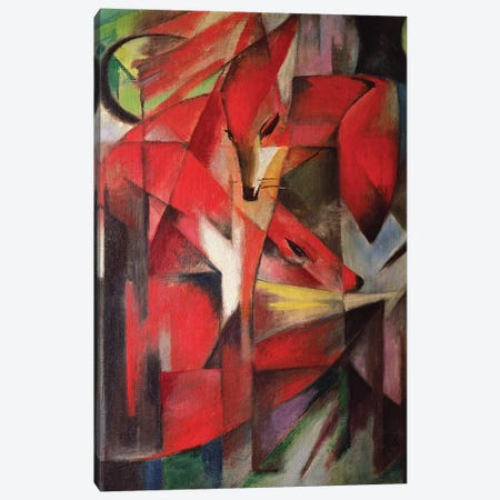 The Fox, 1913 Canvas Print #BMN64} by Franz Marc Art Print