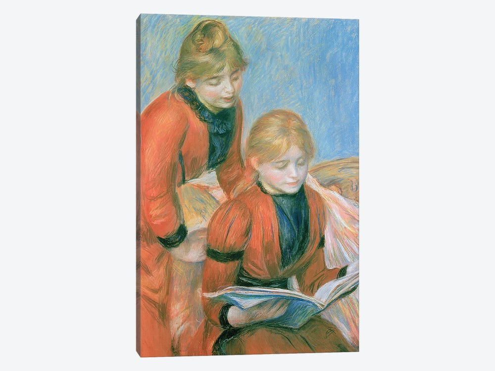 The Two Sisters by Pierre-Auguste Renoir 1-piece Canvas Artwork