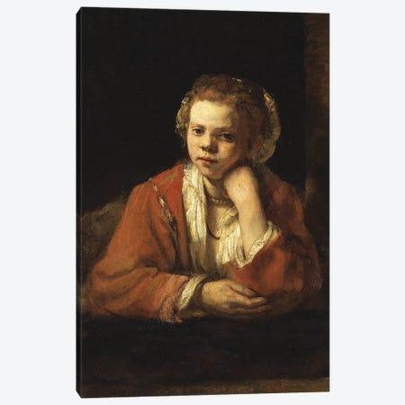 The Kitchen Maid, 1651 Canvas Print #BMN6506} by Rembrandt van Rijn Canvas Art Print