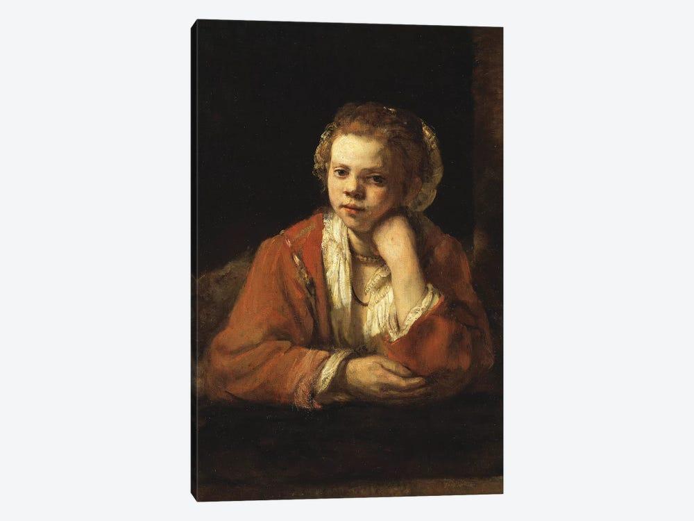 The Kitchen Maid, 1651 by Rembrandt van Rijn 1-piece Art Print