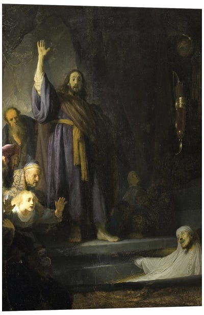 The Raising Of Lazarus, c.1630-2 Canvas Print #BMN6507