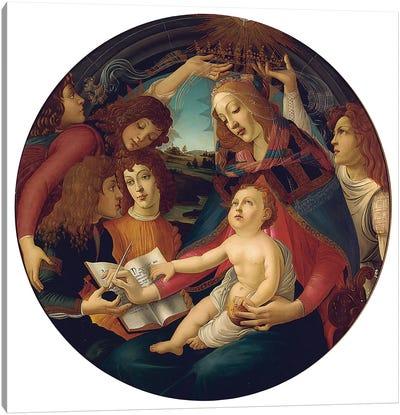 Madonna Of The Magnificat Canvas Print #BMN6508