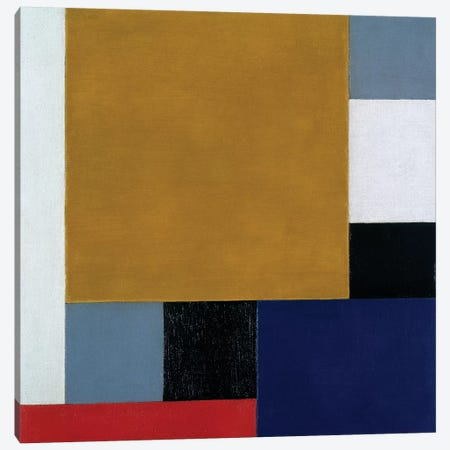 Composition 22, 1922 Canvas Print #BMN6509} by Theo Van Doesburg Canvas Art