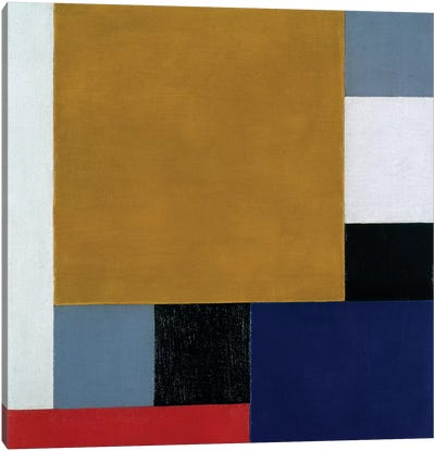 Composition 22, 1922 Canvas Art Print