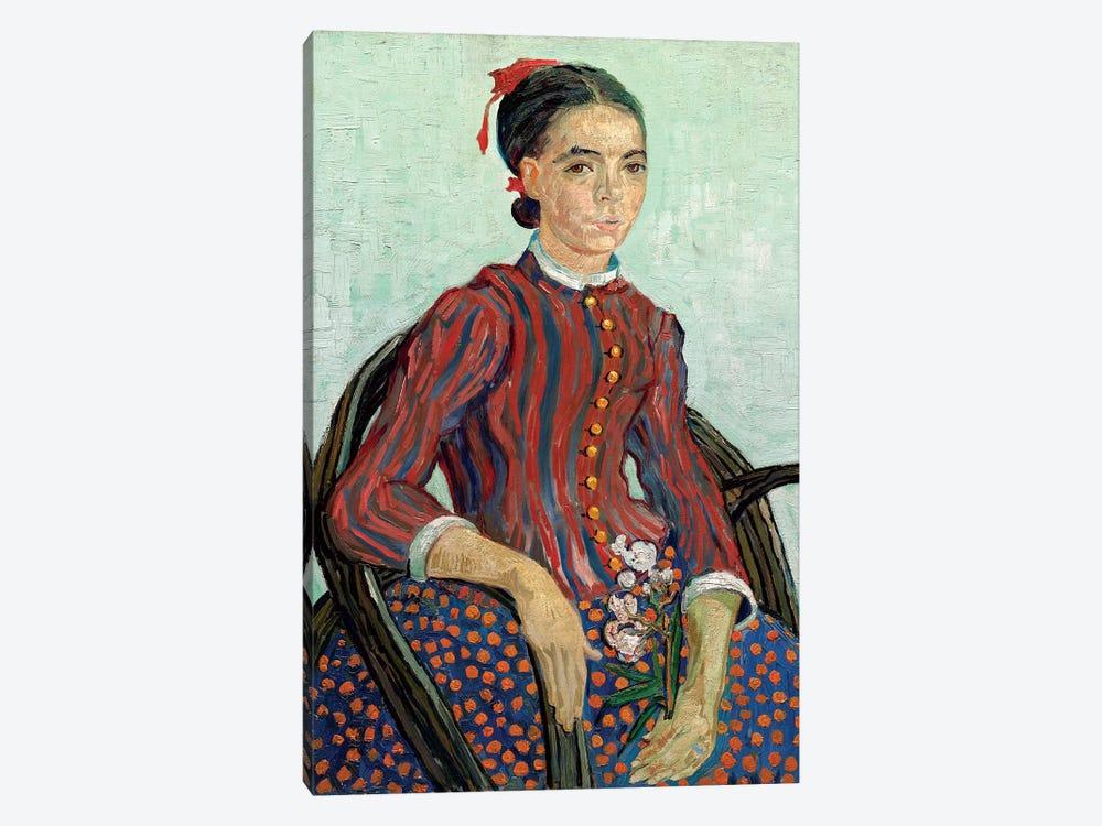 La Mousme, 1888 by Vincent van Gogh 1-piece Canvas Wall Art