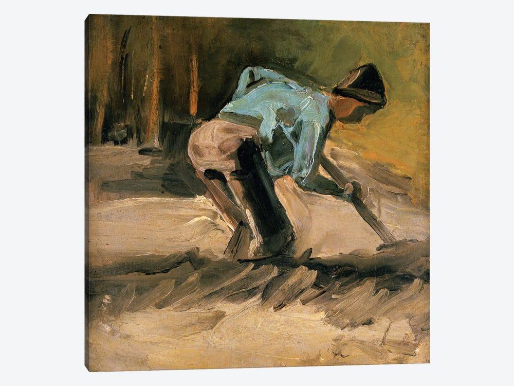 Man At Work, c.1883 by Vincent van Gogh 1-piece Canvas Art Print