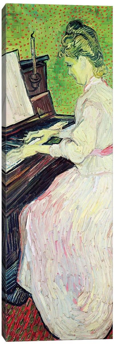 Marguerite Gachet At The Piano, 1890 Canvas Print #BMN6514