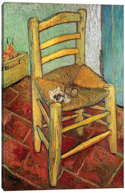 Vincent's Chair, 1888 Canvas Print #BMN6518