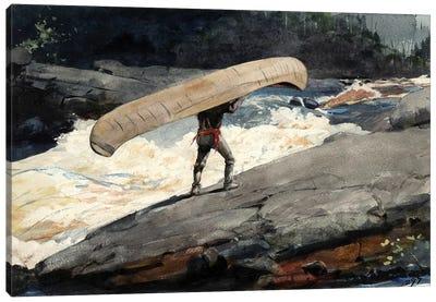 The Portage, 1897 Canvas Art Print