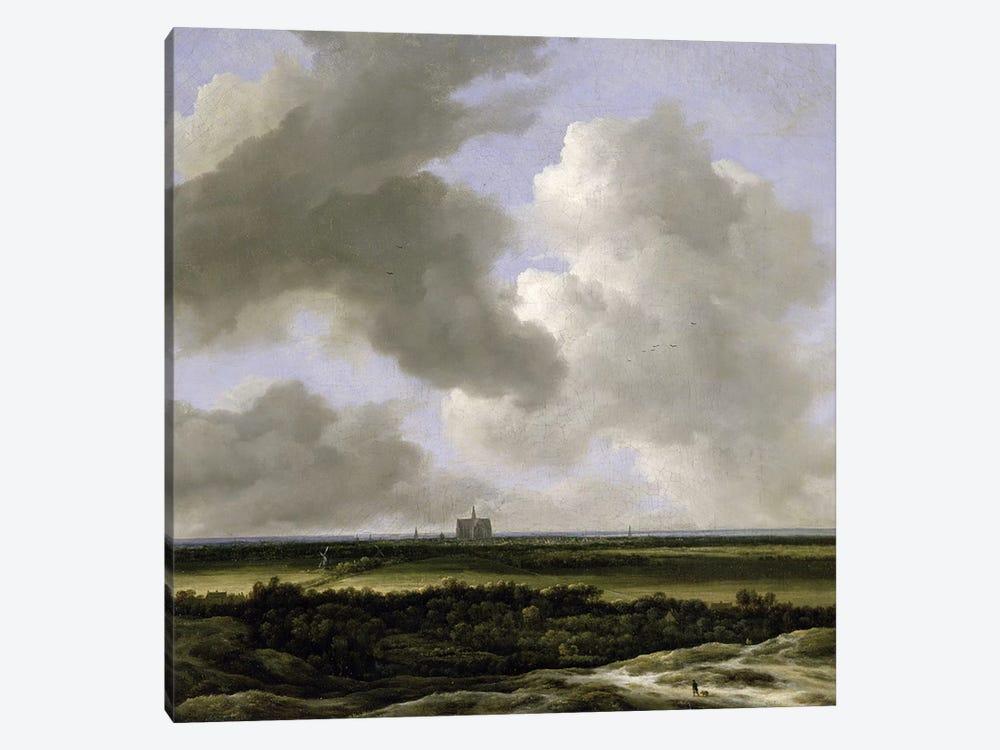 Panoramic View of Haarlem, c.1670  by Jacob Isaacksz van Ruisdael 1-piece Canvas Art