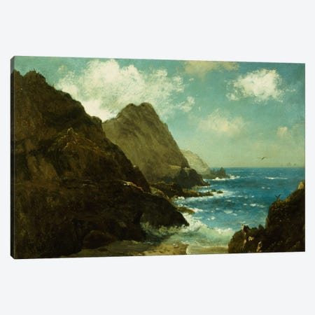 Farallon Islands Canvas Print #BMN6533} by Albert Bierstadt Canvas Print