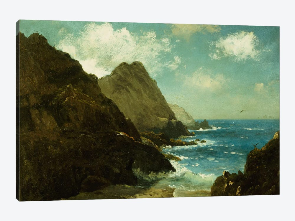 Farallon Islands by Albert Bierstadt 1-piece Canvas Art Print