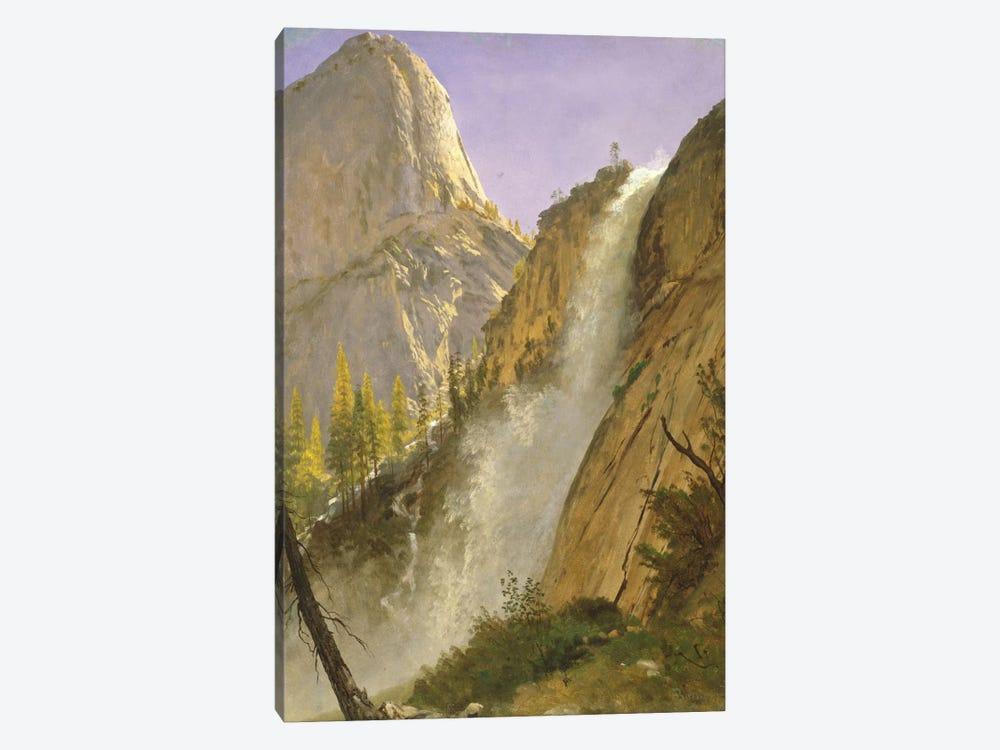 Liberty Cap, Yosemite Valley, 1873 by Albert Bierstadt 1-piece Canvas Artwork