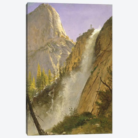 Liberty Cap, Yosemite Valley, 1873 Canvas Print #BMN6538} by Albert Bierstadt Canvas Art Print