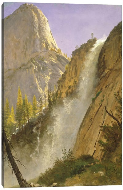 Liberty Cap, Yosemite Valley, 1873 Canvas Art Print