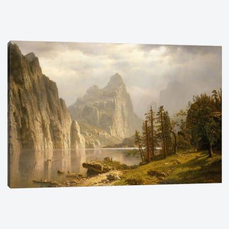 Merced River, Yosemite Valley, 1866 Canvas Print #BMN6540} by Albert Bierstadt Canvas Art