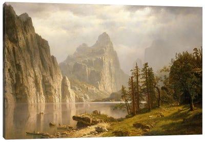 Merced River, Yosemite Valley, 1866 Canvas Art Print