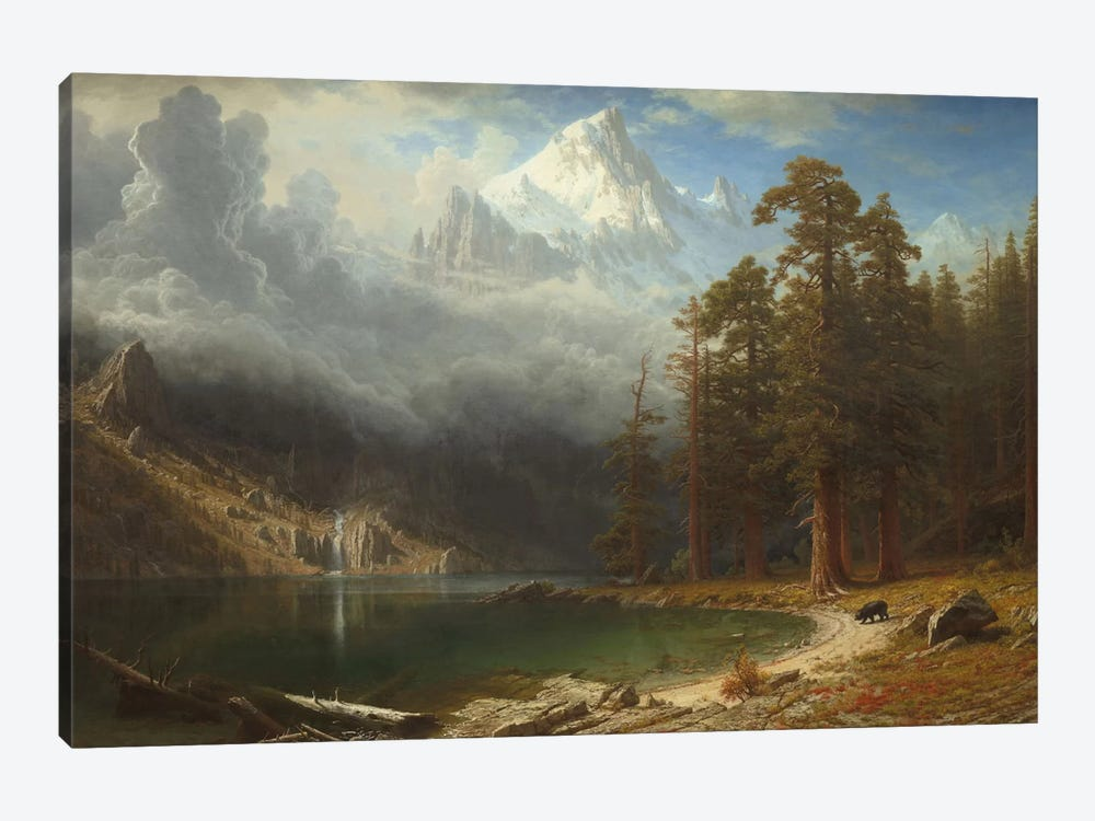 Mount Corcoran, c.1876-77 by Albert Bierstadt 1-piece Canvas Wall Art