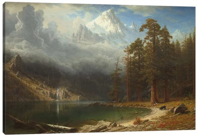 Mount Corcoran, c.1876-77 Canvas Art Print