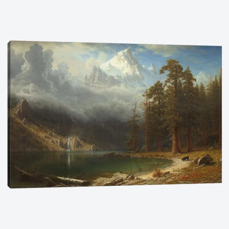 Mount Corcoran, c.1876-77 Canvas Print #BMN6541} by Albert Bierstadt Canvas Art