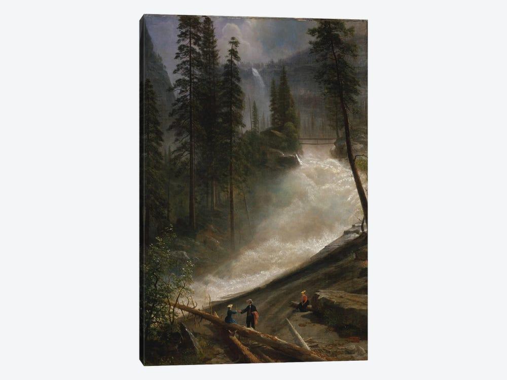 Nevada Falls, Yosemite, c.1872-73 by Albert Bierstadt 1-piece Art Print