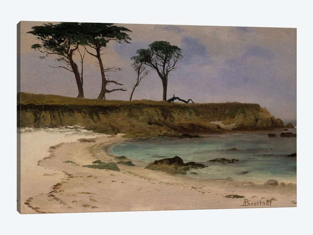 Sea Cove, c.1880-90 by Albert Bierstadt 1-piece Canvas Wall Art