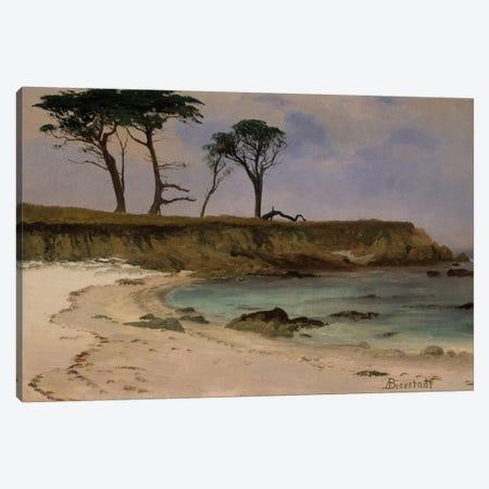 Sea Cove, c.1880-90 Canvas Print #BMN6547} by Albert Bierstadt Canvas Art Print