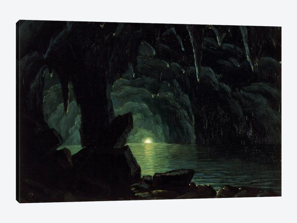The Blue Grotto, Capri by Albert Bierstadt 1-piece Canvas Art