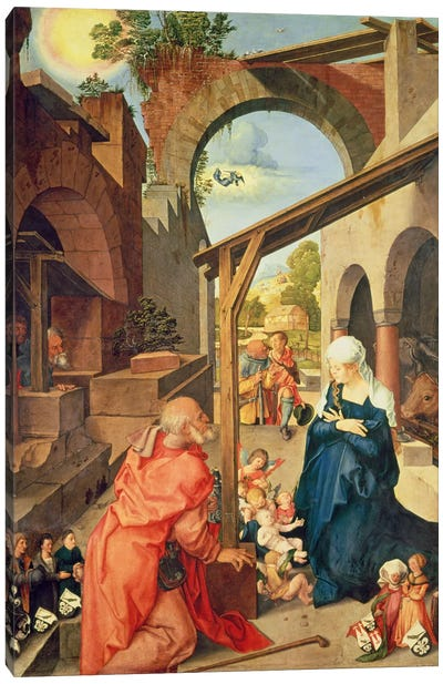 Central Panel, Paumgartner Altarpiece, c.1500 Canvas Print #BMN6558